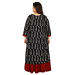 Damyantii Plus Size Skirt and Kurtas Set for Women with Hand Block Printed Fabric