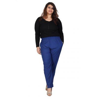 Plus Size Blue Pant