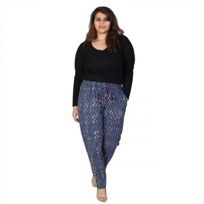Plus Size Indigo Pant