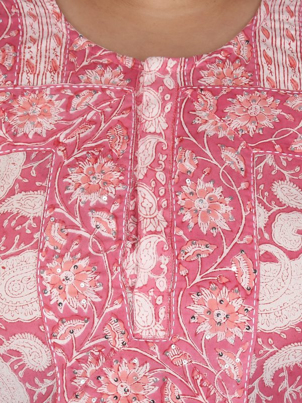 Pink Kurta DS20_224