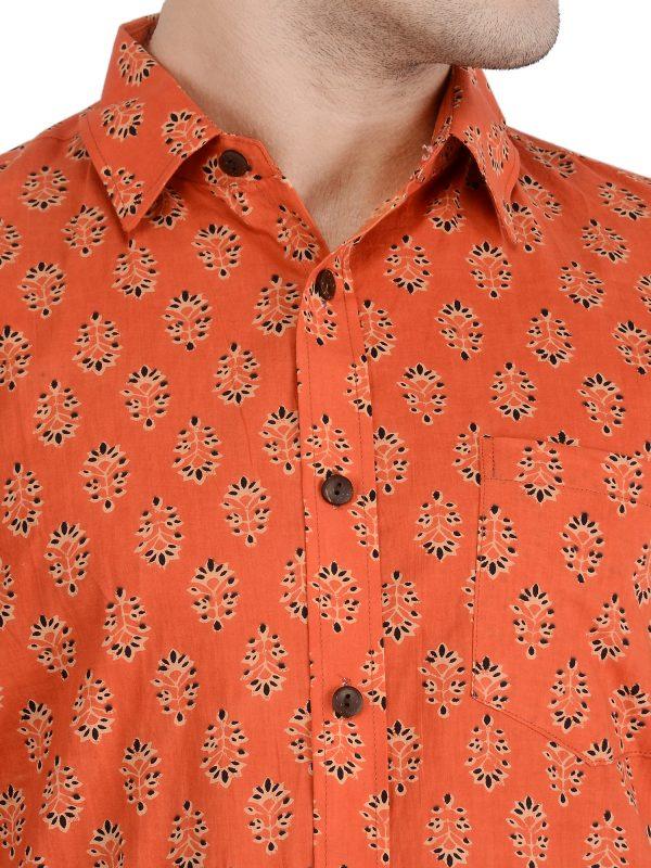 Half Sleeve Shirt Man