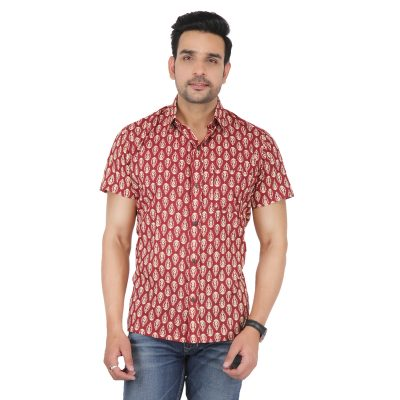 Hand Block Printed Shirt