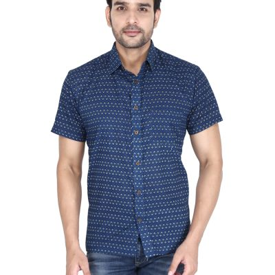 Men's Hand Block Print Shirts